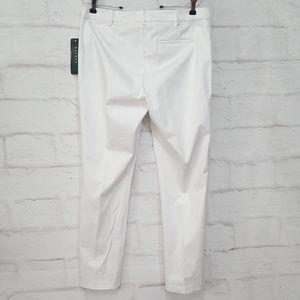 Lauren Ralph Lauren Pants & Jumpsuits - Ralph Lauren  Straight Leg Pants White Sz 10
